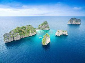 เกาะห้า เกาะรอก